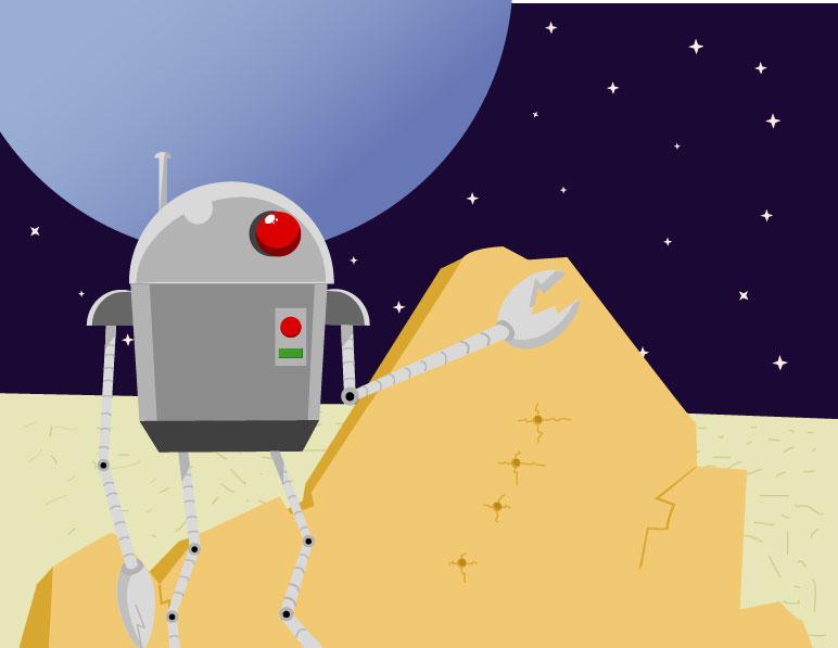 Spacerobot